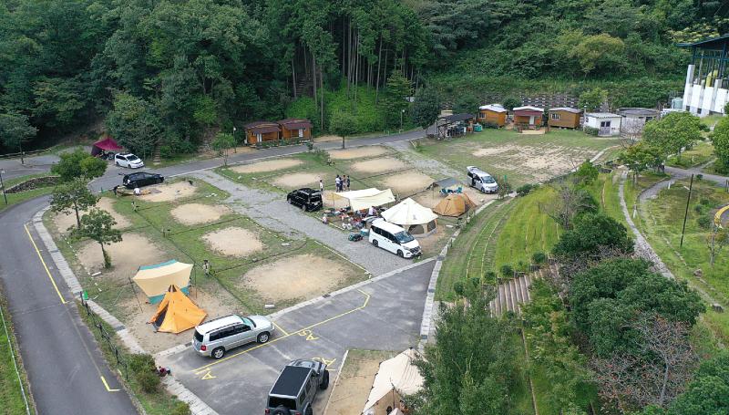 十二坊温泉オートキャンプ場(滋賀県)