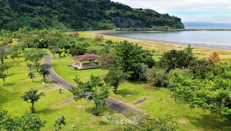 指宿エコキャンプ場(鹿児島県)